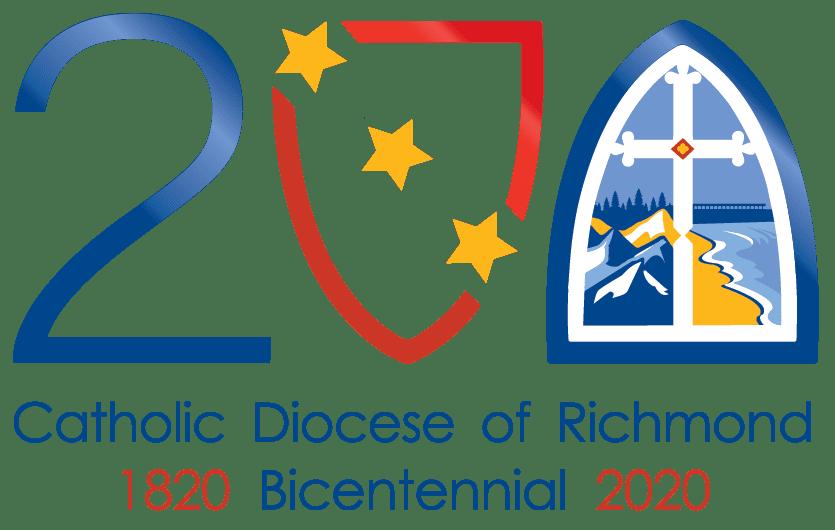 Catholic Diocese of Richmond Bicentennial logo